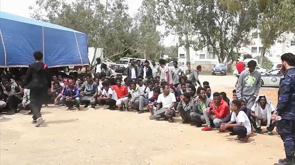 Zu gefährlich: UN beendet Arbeit in libyschem Flüchtlingszentrum