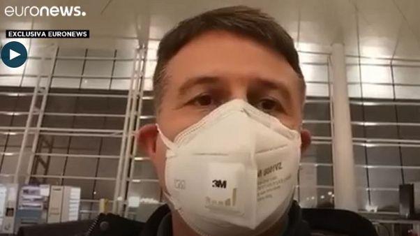 """""""Ya estamos por fin en el avión"""", crónica exclusiva de la evacuación de españoles de Wuhan"""