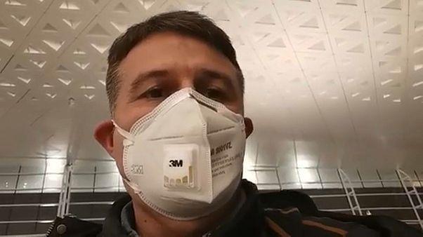 En exclusiva: Crónica en directo de la evacuación de españoles de Wuhan