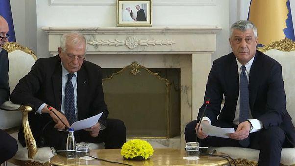 Borrell im Kosovo: Schengenvisum und Serbien