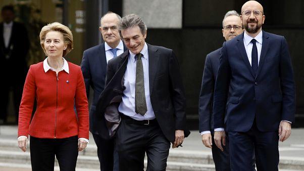 """""""Kein Ende, sondern ein Anfang"""": Brüssel am Brexit-Day"""