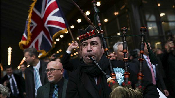 واکنش اسکاتلند و ایرلند به فرارسیدن موعد رسمی برکسیت
