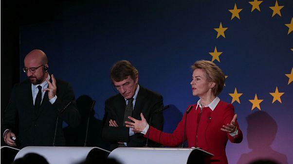پیام اتحاد و امیدواری رهبران اتحادیه اروپا در آستانه خروج بریتانیا