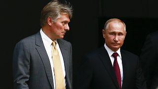 Dmitriy Peskov - Vladimir Putin