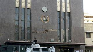 مبنى محطة محافظة أسيوط