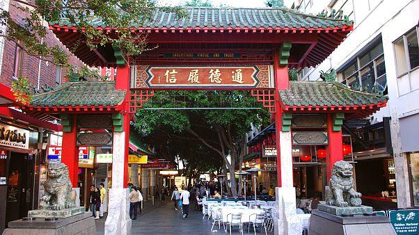 Sydney'deki Çin Mahallesi