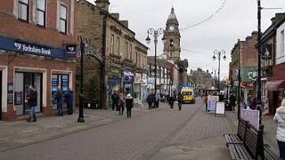 Utcakép Yorkshire-ben