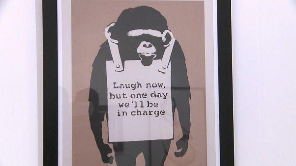 Bis 30. April: Banksy in Budapest