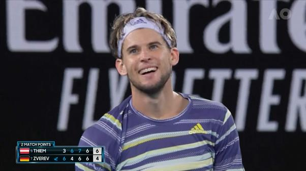 Thiem se enfrentará a Djokovic en la final del Open de Australia