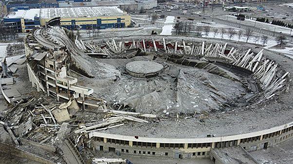 سقف ملعب بيتربرغسكي