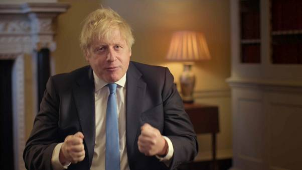 Boris Johnson says Brexit is 'an astonishing moment of hope'