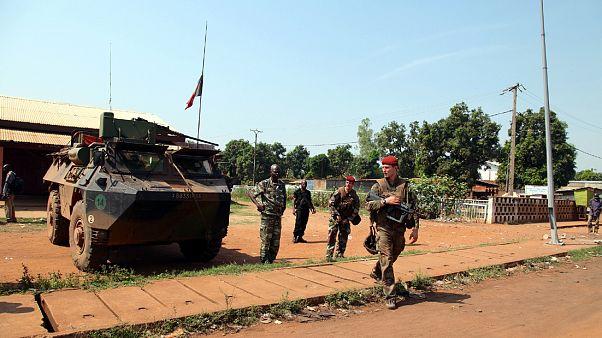 Afrika'da Fransız askerleri