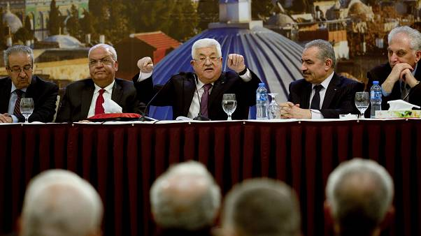 Palestinian President Abbas cuts ties with Israel and US over peace plan