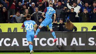 Süper Lig'in 20. haftasında Trabzonspor, Fenerbahçe ile Şenol Güneş Spor Kompleksinde karşılaştı.