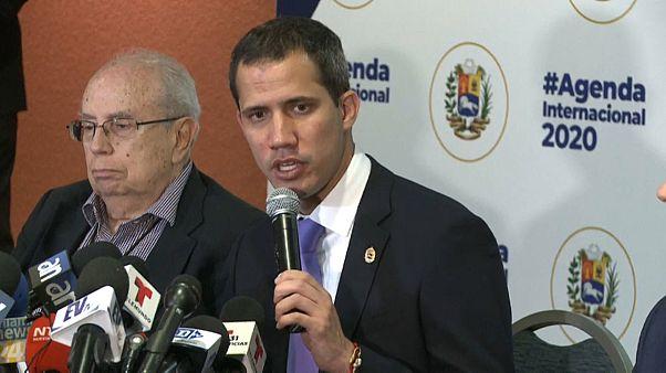 """Guaidó dice que se estudian """"todas las opciones factibles"""" para derrocar a Maduro"""