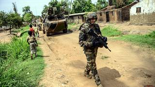 Afrika'daki Fransız askerleri