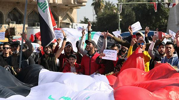معترضان عراقی علیه نخست وزیر جدید به خیابان آمدند