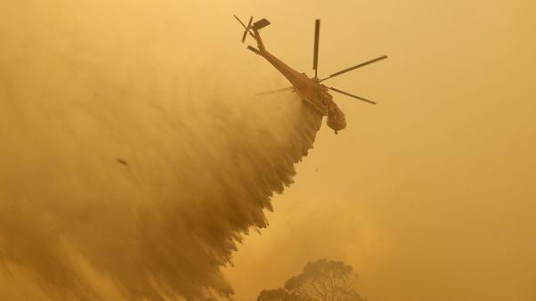 تراجع مخاطر حريق ضخم في كانبيرا مع انخفاض درجات الحرارة