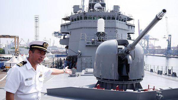 Japon savaş gemisi