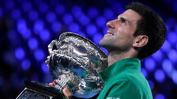 Novak Djokovic 8. Avustralya Açık şampiyonluğunu kazandı
