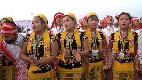 گشایش جشنوارهٔ اقلیتهای نژادی میانمار