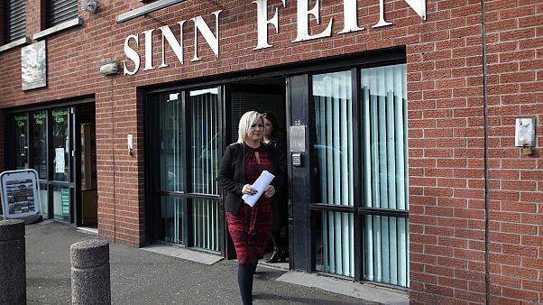 Kuzey İrlanda'da Sinn Fein partisi merkezi