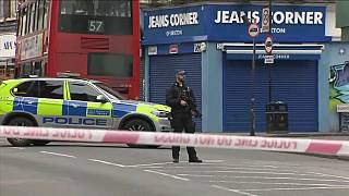The 'terrorism-related incident' happened on Streatham High Road in south London
