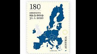 Dört defa değişen Brexit tarihi posta pullarına da yansıdı