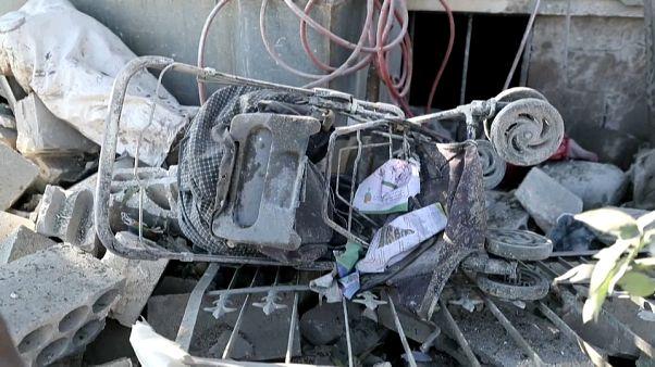 Mindestens 14 Zivilisten allein an diesem Sonntag in Syrien getötet