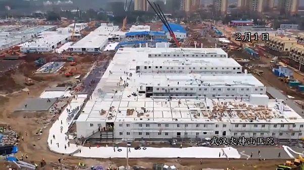 Rekordkrankenhaus von Wuhan: Zehn Tage statt zwei Jahre