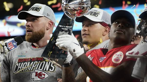 Les Chiefs remportent le Super Bowl !