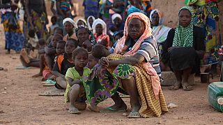 Camp de déplacés de Kaya, au Burkina Faso