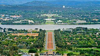 شهر کانبرا، پایتخت استرالیا