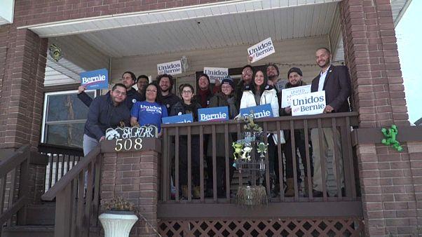 Equipo de campaña de Bernie Sanders 2020 en Iowa