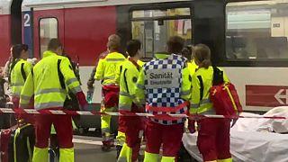 Zugunfall am Bahnhof Luzern: 12 Personen verletzt