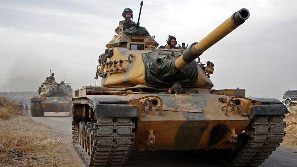 TSK'ya ait Amerikan yapımı M60 tankı
