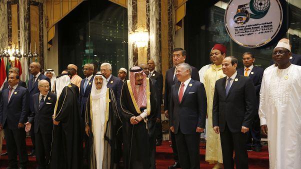 خلال قمة السنة الماضية لمنظمة التعاون الإسلامي في مكة / السعودية