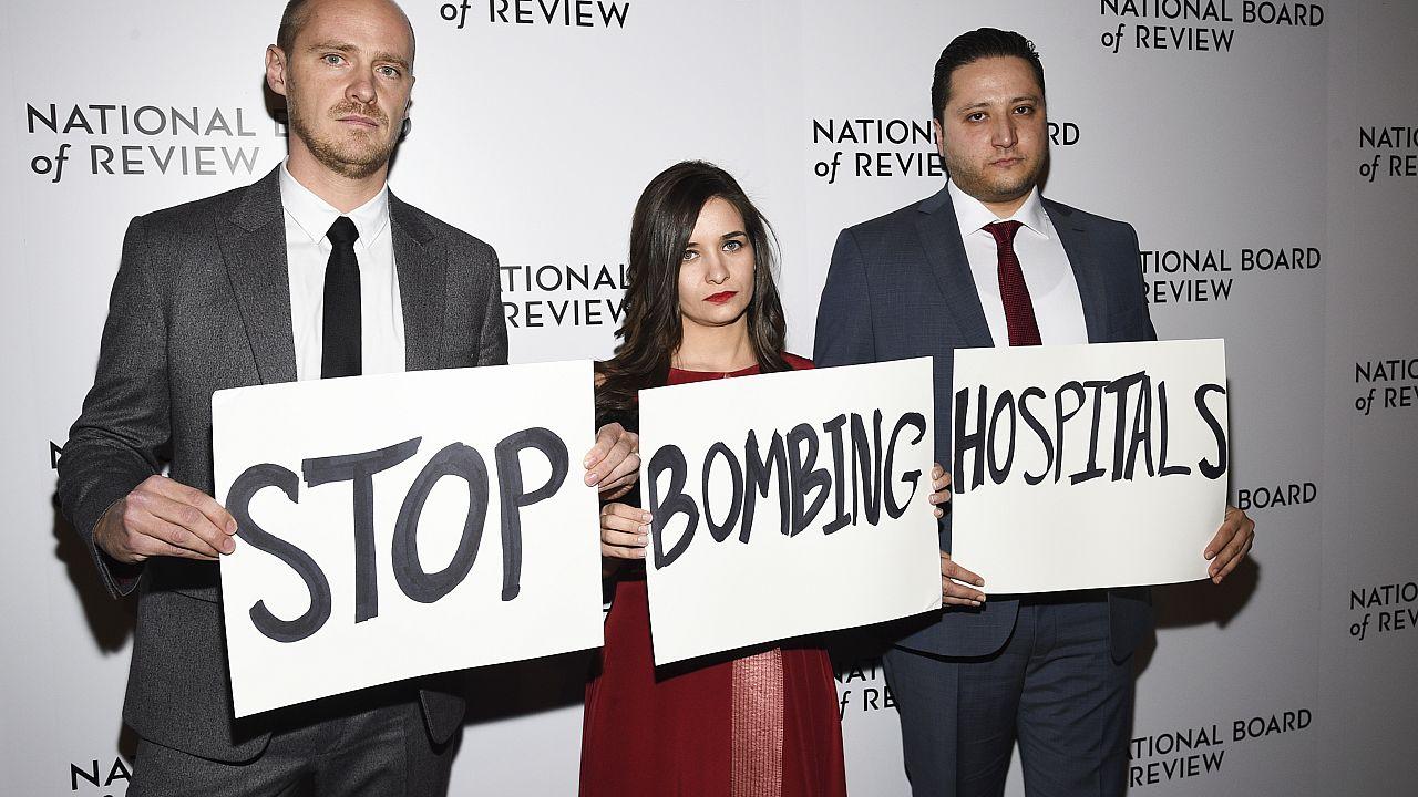 La directora Waad Al Kateab gana el Bafta por su documental grabado en Siria