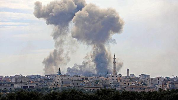 Турецкая и сирийская армии обменялись ударами. Анкара отправила бронетехнику к Идлибу