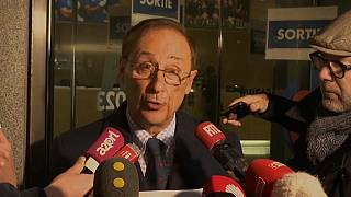 Didier Gailhaguet, à la sortie du ministère des sports , Paris, le 3 février 2020