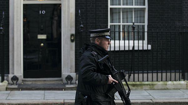 شرطي بريطاني في لندن