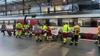 Люцерн: поезд врезался в путевой упор