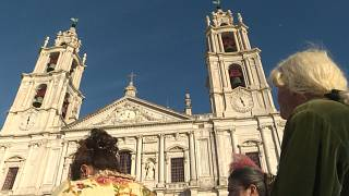 98 bells of Mafra basilica in Portugal chime after years of silence