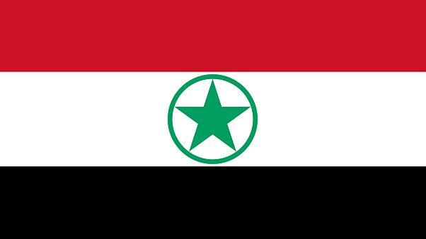 پرچم جنبش مبارزه عربی برای آزادی اهواز