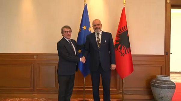 Στην Αλβανία ο Νταβίντ Σασόλι