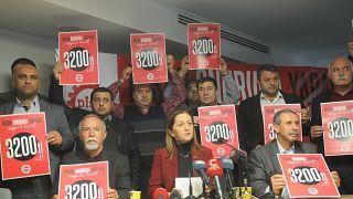 DİSK'in 2020 yılı için asgari ücret talebi net 3 bin 200 TL idi
