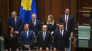 Kosova'da koalisyon hükümeti güvenoyu aldı