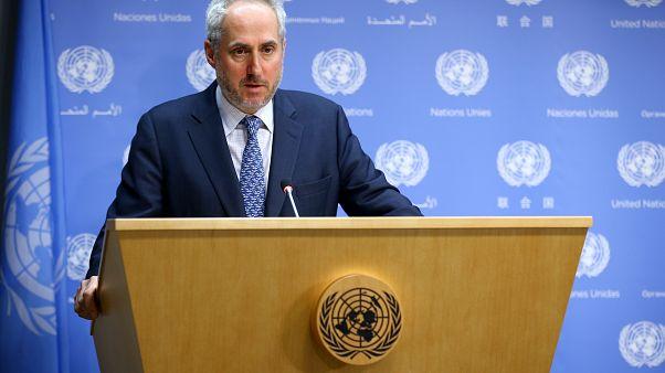 BM Genel Sekreter Sözcüsü Stephane Dujarric, günlük basın brifinginde, Suriye'nin kuzey batısında yer alan İdlib'de artan gerginliğe ilişkin açıklamada bulundu