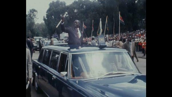 Daniel arap Moi, second président du Kenya, est décédé ce mardi
