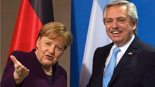 El presidente argentino Alberto Fernández pide ayuda a Europa para afrontar la deuda